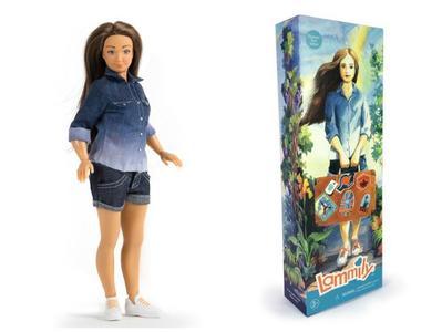 Ya a la venta Lammily, la muñeca con medidas más reales