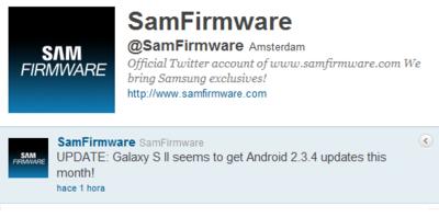 El Samsung Galaxy SII se actualizará a Gingerbread 2.3.4 este mismo mes