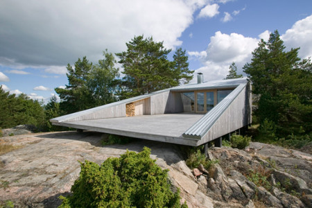 Villa Mecklin, arquitectura moderna que respeta la naturaleza