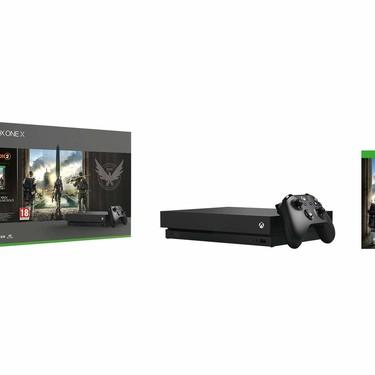 Xbox One X con The Division 2 a precio de Black Friday en Amazon: 329 euros