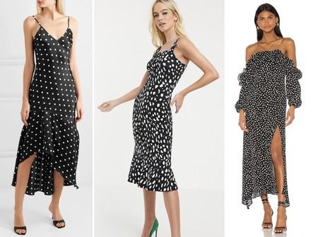 Polka Dresses Emrata