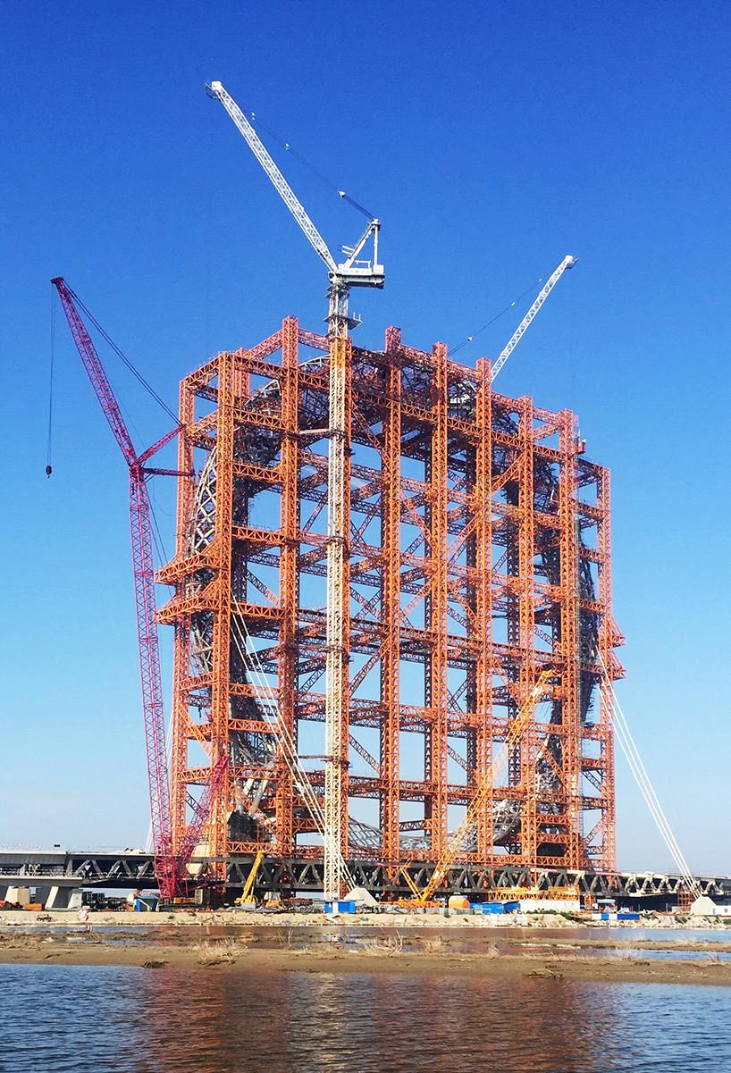 Bailang River Bridge Ferris Wheel Designboom 05 18 2017 818 007
