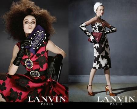 Campaña Lanvin Edie Campbell