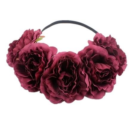 Diademas De Flores 4