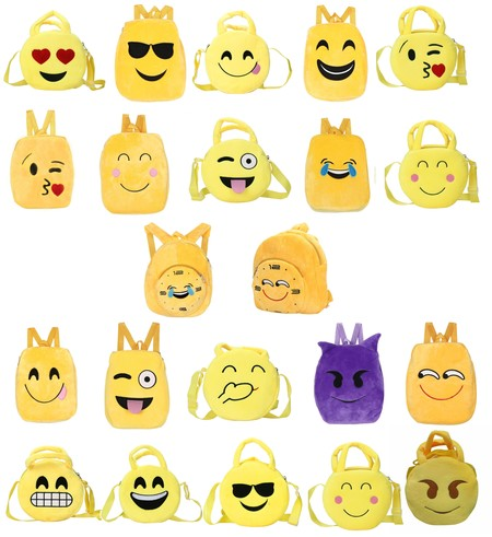 Mochilas infantiles de emojis rebajadas en Amazon por sólo 0,19 euros