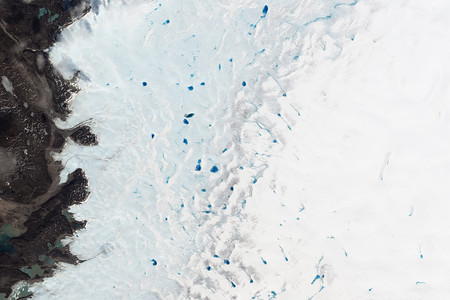 Hielo Negro Groenlandia Buena
