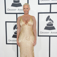 Amber Rose Grammy 2014