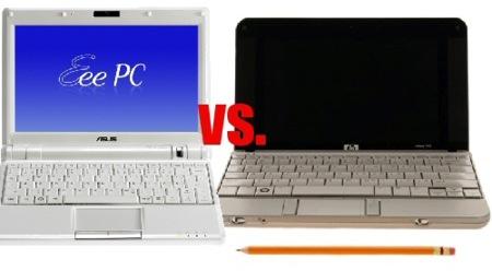 HP 2133 vs Asus Eee