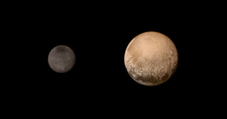 Nh Color Pluto Charon