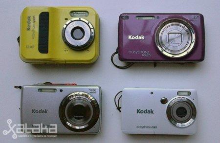 Kodak EasyShare, cámaras sociales de todos los tamaños y colores