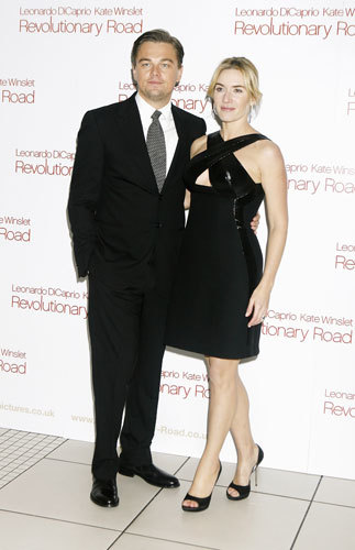 Kate Winslet en la premiere de Revolutionary Road en Londres