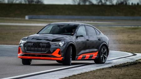 Audi E-Tron S derrapare