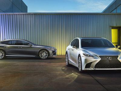 Lexus LS 2017: más grande, pero también más ágil y ligero, ahora con motor V6 biturbo