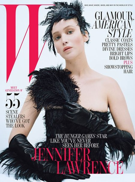 jennifer lawrence w magazine