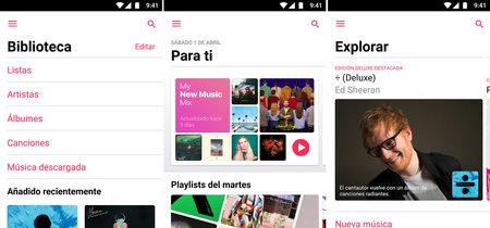 Apple Music 2.0 para Android: esta es su nueva interfaz y sus novedades