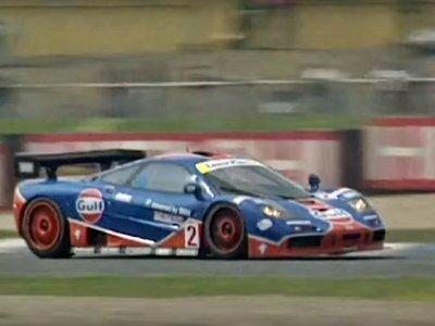 Viaja al pasado, presta atención y siente cómo es pilotar un McLaren F1 GTR