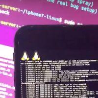 Este iPhone 7 con 'jailbreak' también es capaz de ejecutar Ubuntu