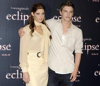 Ashley Greene y Xavier Samuel en la premiere de Eclipse en España