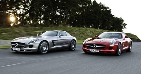 "Mercedes-Benz SLS AMG ""Gullwing"", primeras fotografías"