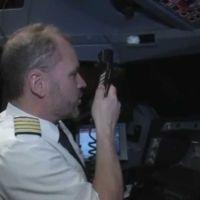 ¿Cómo se vio el eclipse solar de este mes desde un vuelo comercial?