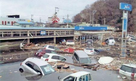 Concesionario Netz Toyota Iwate en Miyako, actualmente reconstruido