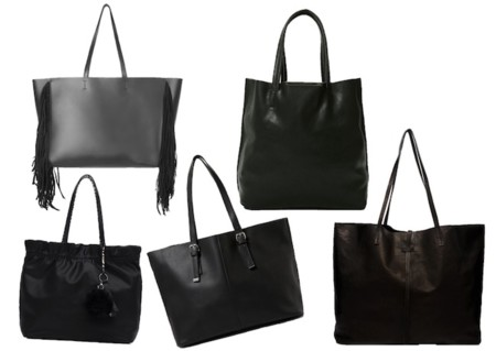 Shopping Bag Negro Low Cost