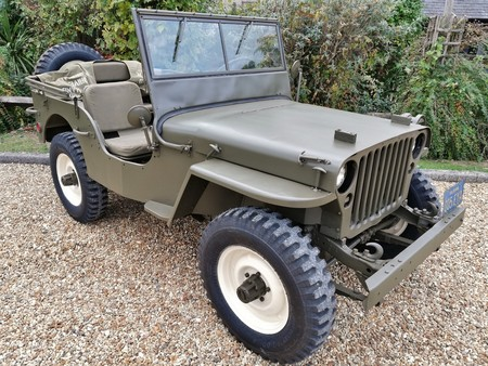 Jeep Willys Mcqueen 1