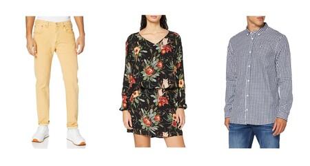 Chollos en tallas sueltas de camisas, pantalones o  vestidos Pepe Jeans, Tommy Hilfiger, Levi's o Calvin Klein en Amazon