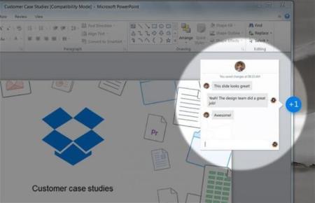 Project Harmony: Dropbox permitirá edición colaborativa de documentos de Microsoft Office
