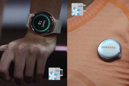 La nueva pulsera cuantificadora de Samsung podría incluir un medidor de pulsaciones para el pecho