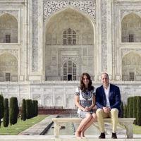 El elegante look de Kate Middleton para visitar el Taj Mahal