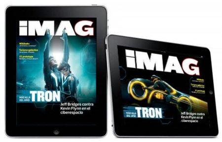 iMAG Magazine, la primera revista digital en español para iPad