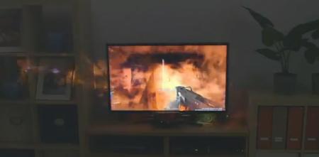 Microsoft quiere que juguemos más allá de la pantalla del televisor con Illumiroom