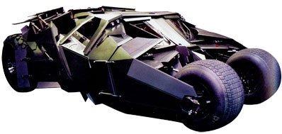 El primer coche de Batman a la vista