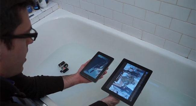 Nexus 7 vs nuevo iPad