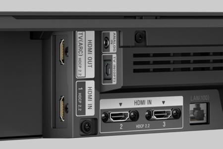 barra de sonido Dolby Atmos Sony conexiones