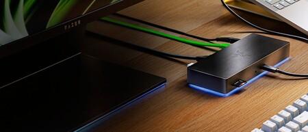 Si andas corto de conexiones en tu PC, el Razer Thunderbolt 4 Dock Chroma te trae lo último en puertos con velocidades de hasta 40 Gbps
