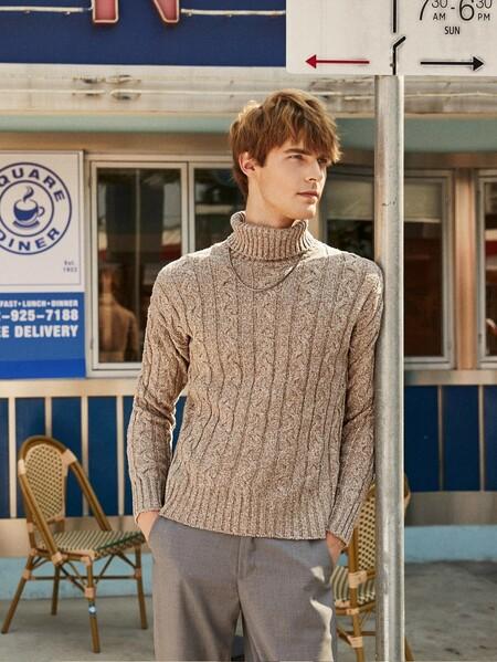 Cinco suéteres de punto que salvarán tu lunes a viernes en la oficina los próximos días fríos de temporada