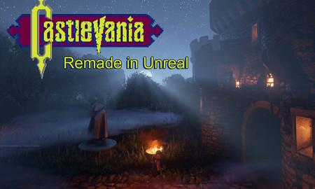 Konami cancela el proyecto del Castlevania en Unreal Engine 4 recreado por un fan