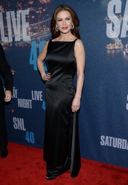 Catherine Zeta Jones 40th Snl