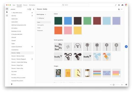 Librerias Creative Cloud