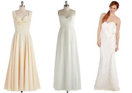 Modcloth vestidos novia 2