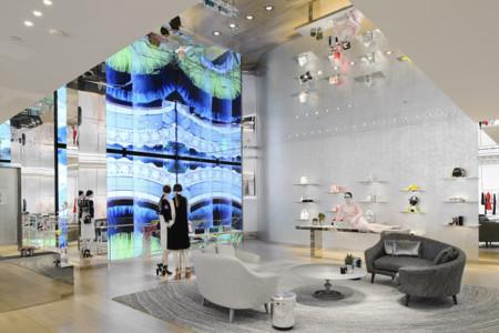 Dior Tienda Miami Interior