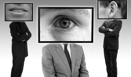 Montaje fotográfico alusivo al espionaje