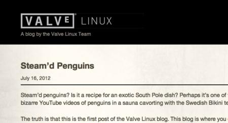 Valve confirma sus esfuerzos en lanzar Steam para Linux abriendo un blog oficial del proyecto