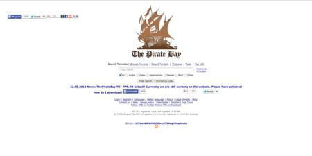 Los torrents no lo tienen fácil: YTS caído, Popcorntime.io muerto, y Kickass bloqueado; ¿qué está pasando?