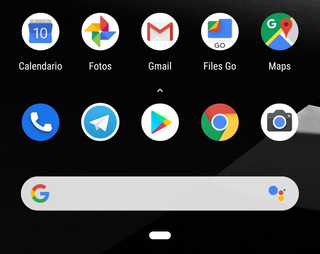 this is the new Pixel 3 Launcher: all the news that you can have in your Android 9 Foot
