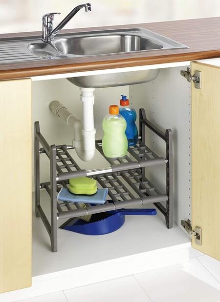 Estantería para armario de fregadero con descuento