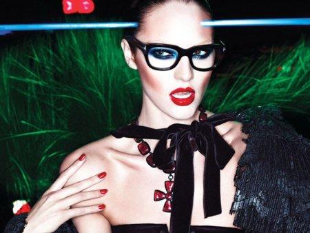 Candice Swanepoel es el reclamo sexual de Tom Ford para el próximo invierno