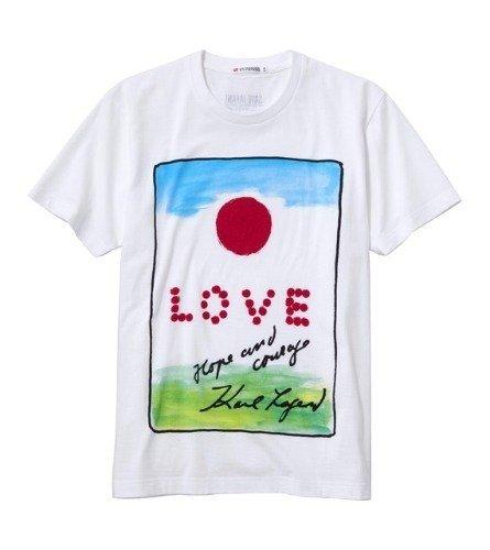 Uniqlo convocó a famosos para diseñar camisetas solidarias con Japón